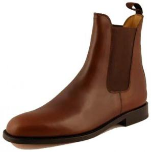 boots bexley marron cuir