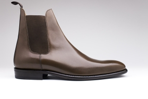 bottines finsbury marron cuir