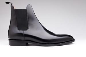 bottines finsbury noire cuir