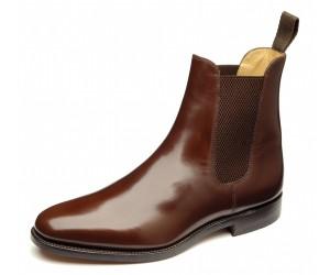 chelsea boots marron cuir